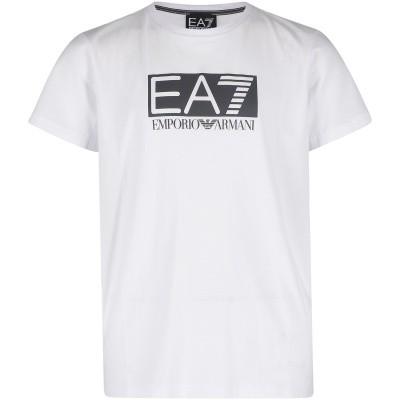 Afbeelding van EA7 3GBT53 kinder t-shirt wit