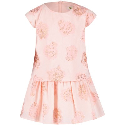 Picture of Kenzo KN30067 baby dress light pink