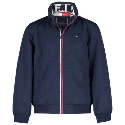 Picture of Tommy Hilfiger KB0KB04464 kids jacket navy