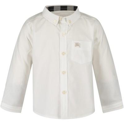 Afbeelding van Burberry 4058004 baby blouse wit