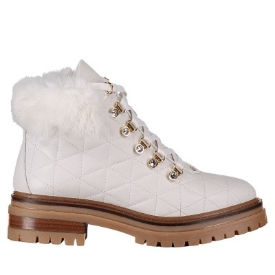 Picture of Stokton BLK17 mens boots white
