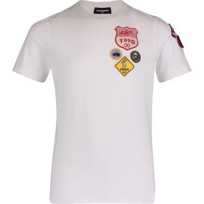 Afbeelding van Dsquared2 DQ03ET kinder t-shirt wit