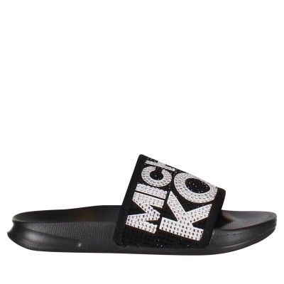 Picture of Michael Kors ZIA JET JAE kids flipflops black