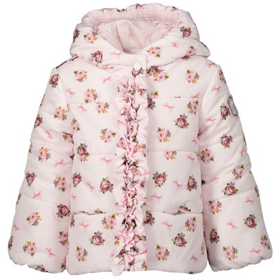 Picture of MonnaLisa 394103 baby coat light pink