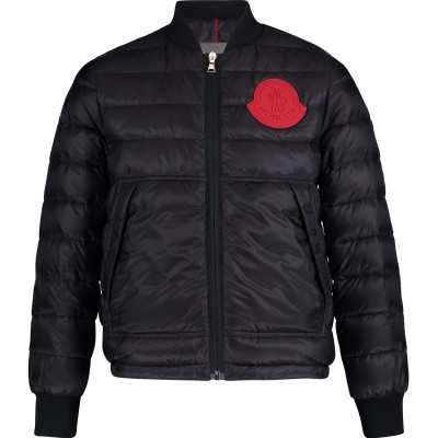 Picture of Moncler 4033999 kids jacket navy