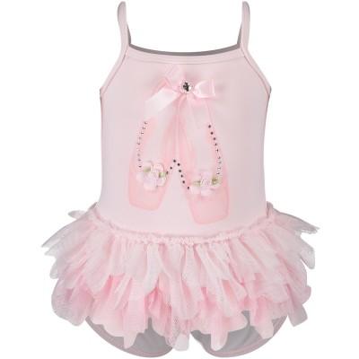 Afbeelding van Kate Mack 570 baby badpakje licht roze