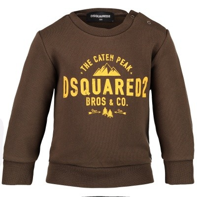 Afbeelding van Dsquared2 DQ02XG baby trui army