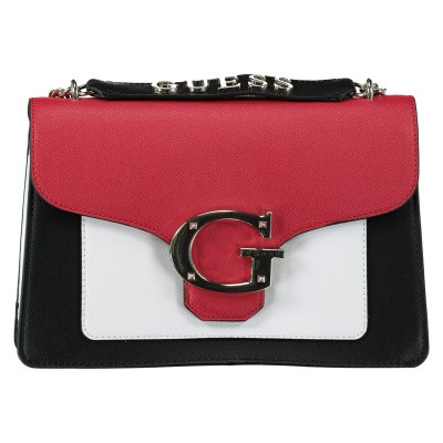 Picture of Guess HWVG7400180 womens bag red