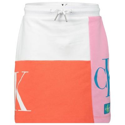 Picture of Calvin Klein IG0IG00228 kids skirt white