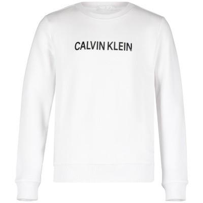 Afbeelding van Calvin Klein IB0IB00119 kindertrui wit