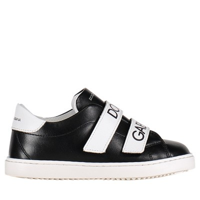 Picture of Dolce & Gabbana DN0098 kids sneakers black