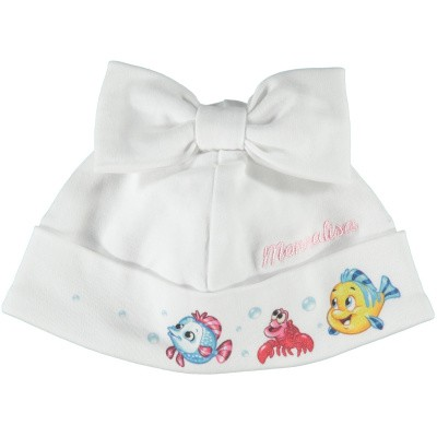 Picture of MonnaLisa 353018 baby hat white