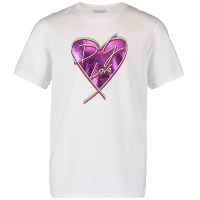 Picture of Dolce & Gabbana L5JT9Z G7SCY kids t-shirt white