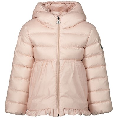 Picture of Moncler 4683905 baby coat light pink