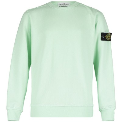 Picture of Stone Island 701661040 kids sweater mint