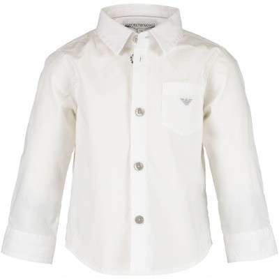 Afbeelding van Armani 6ZHC01 baby blouse off white