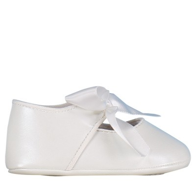 Picture of Mayoral 9091 baby shoes white