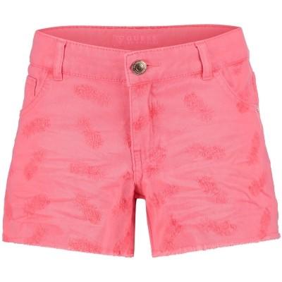 Afbeelding van Guess J82D20 kinder shorts fluor roze