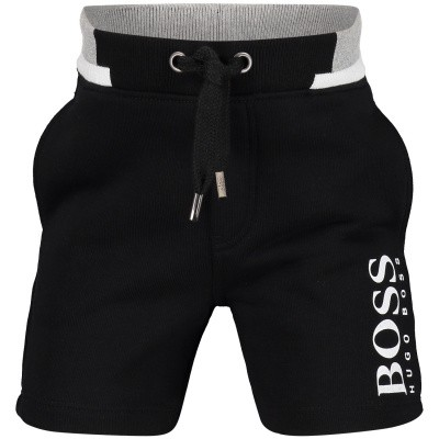 Picture of Boss J04344 baby shorts black