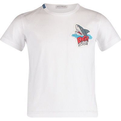 Picture of Dolce & Gabbana L4JT6S kids t-shirt white