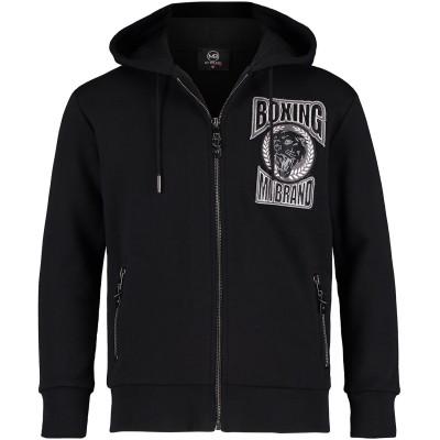 Afbeelding van My Brand BMBHO002MT001 kinder hoodie zwart