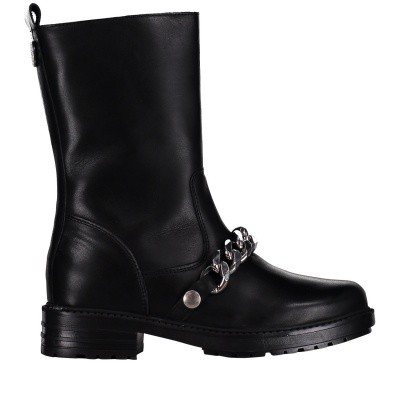 Picture of Nikkie N9649 mens boots black