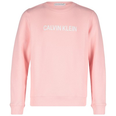 Picture of Calvin Klein IG0IG00102 kids sweater light pink