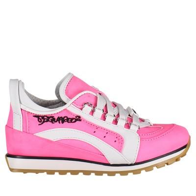 Afbeelding van Dsquared2 59816 kindersneakers roze