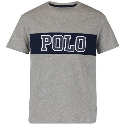 Afbeelding van Ralph Lauren 737839 kinder t-shirt grijs