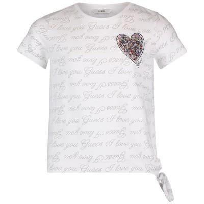Afbeelding van Guess J92I02 kinder t-shirt wit