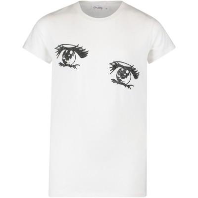 Afbeelding van Miss Grant 67135448 kinder t-shirt wit