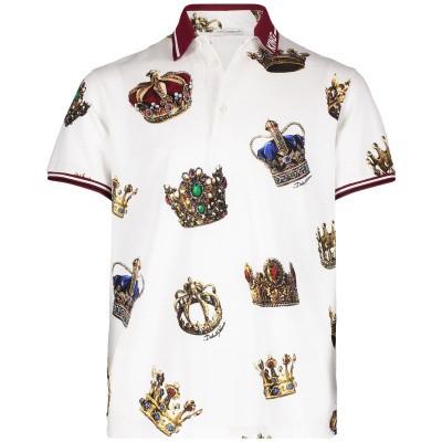 Afbeelding van Dolce & Gabbana L4JT8V kinder polo wit