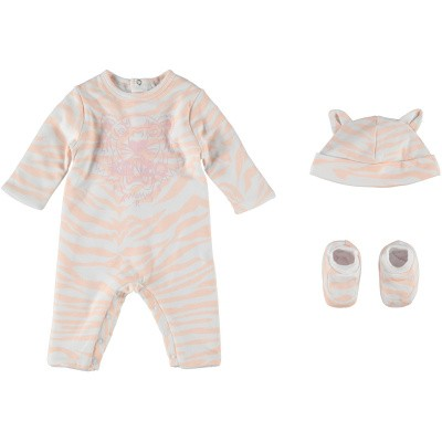 Picture of Kenzo KN99023 baby playsuit light pink