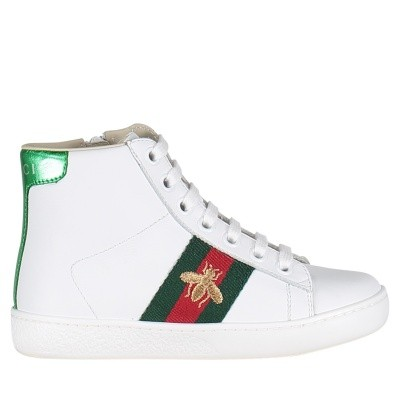 Afbeelding van Gucci 526167 kindersneakers wit