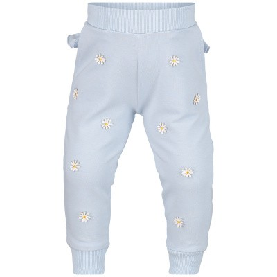 Picture of MonnaLisa 393407AM baby pants light blue