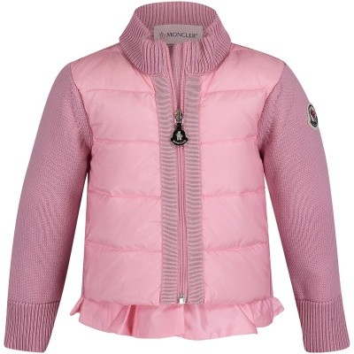 Picture of Moncler 9457405 baby vest pink