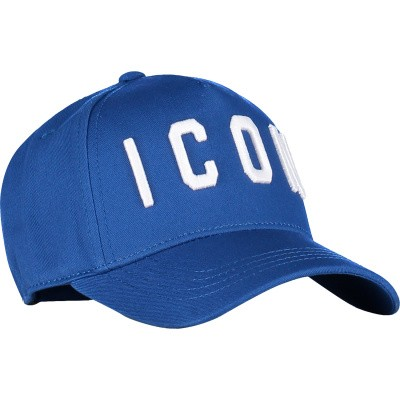 Picture of Dsquared2 DQ031D kids cap cobalt blue