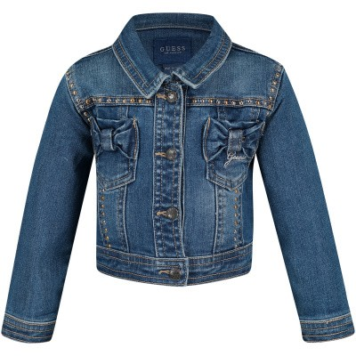 Picture of Guess A91L00 baby coat jeans