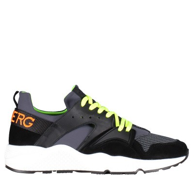 Picture of Iceberg 1053 mens sneakers black