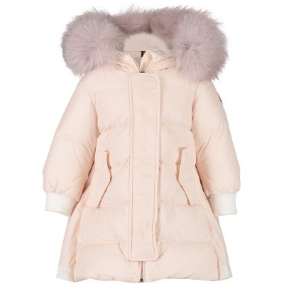 Afbeelding van Moncler 4993425 babyjas licht roze