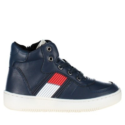 Picture of Tommy Hilfiger T3B430095 kids sneakers navy