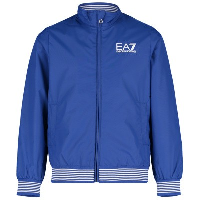 Picture of EA7 3GBB02 kids jacket cobalt blue