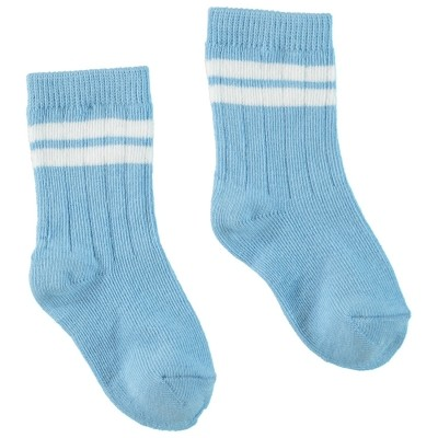 Picture of Bonnie Doon BN844103 baby sock light blue
