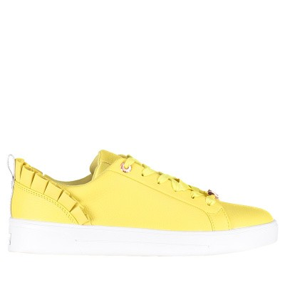 Picture of Ted Baker 918201 womens sneakers yellow