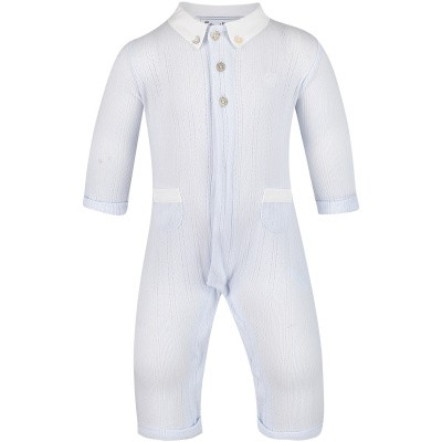 Picture of Tartine et Chocolat TN32061 baby playsuit light blue