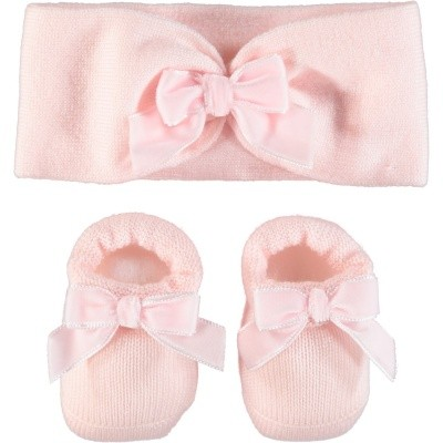 Picture of Story Loris 21198 baby set light pink