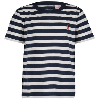 Afbeelding van Ralph Lauren 712333 baby t-shirt navy