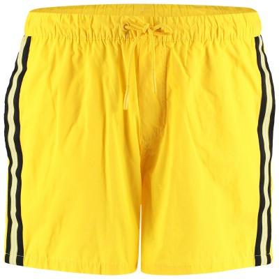 Picture of Airforce M0562 mens swimshorts yellow
