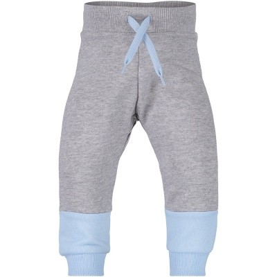 Picture of Kenzo KM23547 baby pants light gray