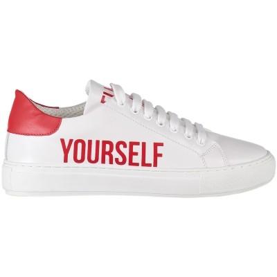 Afbeelding van Pinko 1P215V dames sneakers wit
